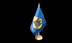 Drapeau de table USA US Delaware