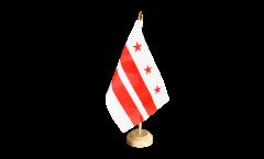 Drapeau de table USA US District of Columbia