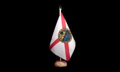 Drapeau de table USA US Florida