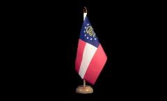 Drapeau de table USA US Géorgie