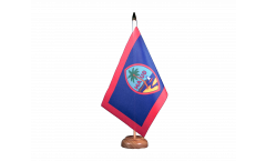 Drapeau de table USA US Guam