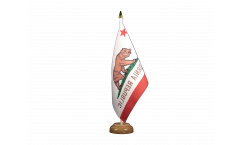 Drapeau de table USA US California