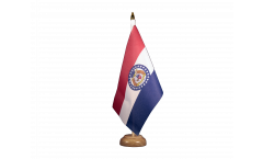 Drapeau de table USA US Missouri