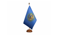 Drapeau de table USA US Nebraska