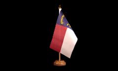 Drapeau de table USA US North Carolina