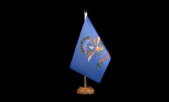 Drapeau de table USA US North Dakota