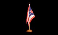 Drapeau de table USA US Ohio