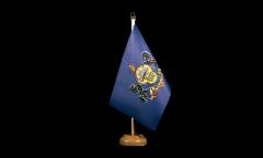 Drapeau de table USA US Pennsylvania