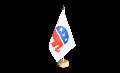 Drapeau de table USA Etats-Unis Républicain