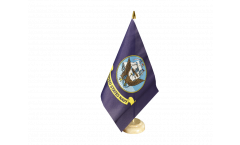 Drapeau de table USA Etats-Unis US Navy