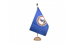 Drapeau de table USA US Virginia