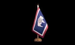 Drapeau de table USA US Wyoming