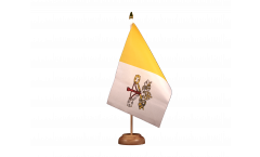Drapeau de table Vatican