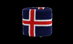 Schweißband Islande - 7 x 8 cm