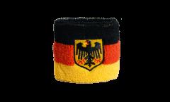Schweißband Allemagne Dienstflagge - 7 x 8 cm