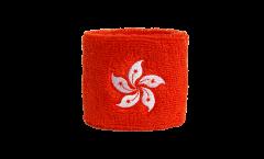 Schweißband Hong Kong - 7 x 8 cm