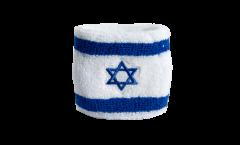 Schweißband Israël - 7 x 8 cm