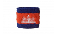 Schweißband Cambodge - 7 x 8 cm