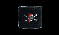 Schweißband Pirate avec foulard - 7 x 8 cm