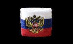 Schweißband Russie avec blason - 7 x 8 cm