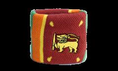 Schweißband Sri Lanka - 7 x 8 cm