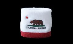 Schweißband USA US California - 7 x 8 cm