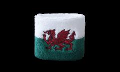 Schweißband Pays de Galles - 7 x 8 cm